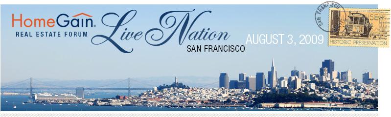 HomeGain Live Nation Real Estate Forum